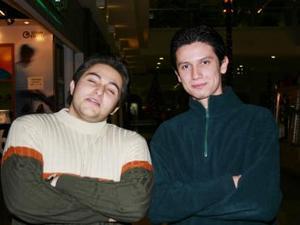 Don Arturo Torre y José Antonio Jiménez.