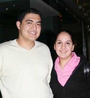 Elvira Arguijo y Gerardo Delgado.