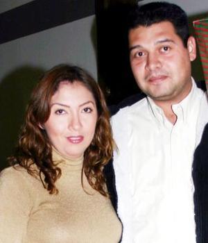 Judith Uranga y Sergio Blanco.