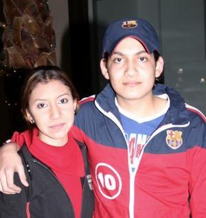 Oscar Martínez y Dulce Martínez.