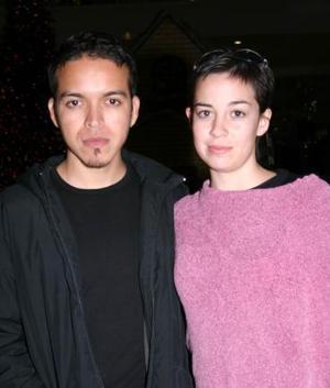 Marco Hernández y Edwina Marló.
