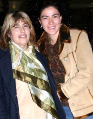 Sra. Alma Mendez y Berenice Miranda Mendez.