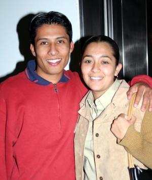 Ulises Torres  Valadez y Yazmín Hernández González.