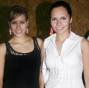 Emmy Arreola y Alejandra Martínez.