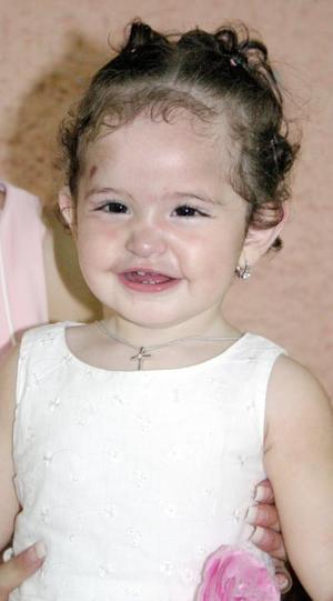 La pequeña Briana Nicole Pica festejó su cumpleaños, con un vonvivio infantil.