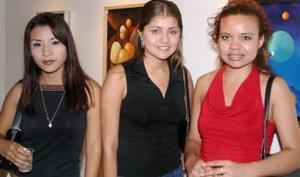 Esthela MEndoza, Marisol Borroel y Alma Reyna.