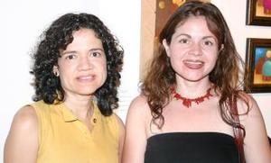 Laura Sanz y Daniela de Medina.