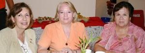 Luz María de Sotomayor, Berenice de Rodríguez y Lilia Moreno.