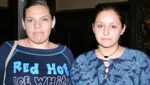 Cecy Romero y Mónica Quezada.