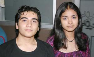 Mario ALberto García Castorena y Claudia Raquel López Silva.