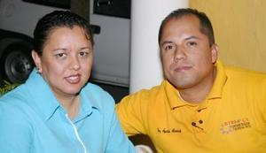 Dulce Muñoz y Agustín Alvarado.