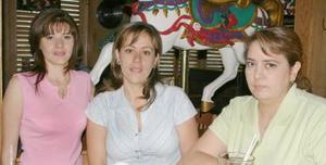 Rosario Ramírez, Berenice Alonso Alonso y Coco Gómez.