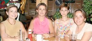 Paola Lamberta, Ana Laura Lamberta, Bety González y Claudia Castro.