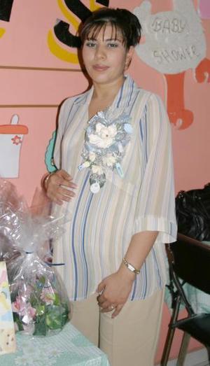 Nadia González de Sosa disfrutó de una fiesta de canastilla.