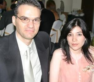 Alejandra de León y Eduardo de la Garza.