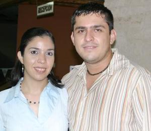 Brenda Flores de Máynez y Edmundo Máynez.