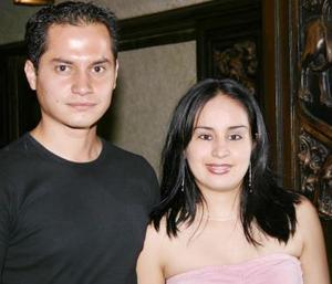 Eduardo Jiménez Alvarado y Selene Rivas de la Torre.