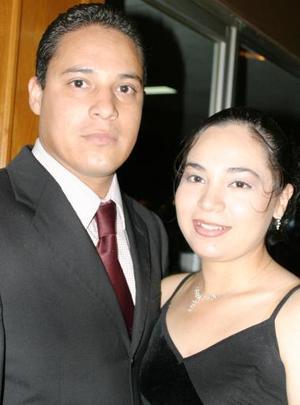 Everardo Zúñiga y Griselda García.