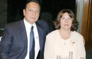 Javier Conatreras y Laura Fernández de Contreras.