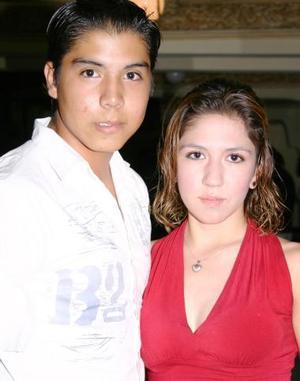 Jesús A. Briceño Gómez y Estefany Valero Garza.