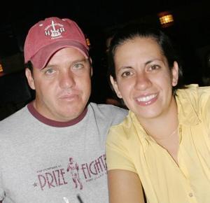 Francisco Mayorga y Gloria Chapoy.
