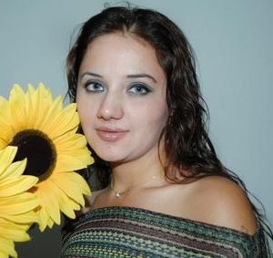 Anabel Pico Moreno, captada en la despedida de soltera.