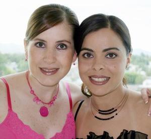 Lilia Sánchez y Sonia García.