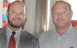 Rodolfo Garza Solares y Roberto García Guerrero.