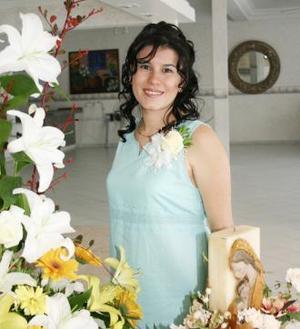 Elsa María Rentería de Barroeta recibió sinceras felicitaciones, en su fiesta de canastilla.