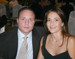 Ana María Torres y Luis Jorge Nahle.