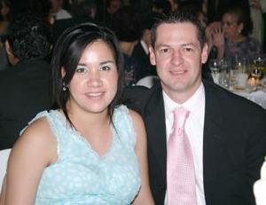 Anabella Guerrero y Salomón Abularach.