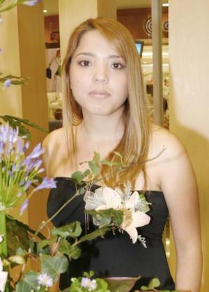 Katia Liseth Santiago González, captada en su despedida de soltera.