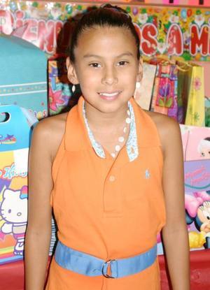 Lolita Alcalá Ibara celebró su décimo cumpleaños, con un divertido convivio infantil.