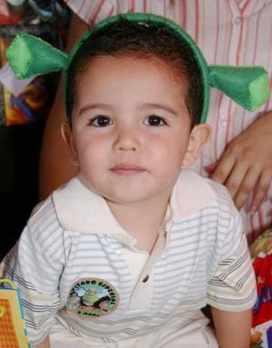 El  pequeño Sergio Alba Cuéllar festejó su segundo cumpleaños, con un divertido convivio que le prepararon sus pápas.