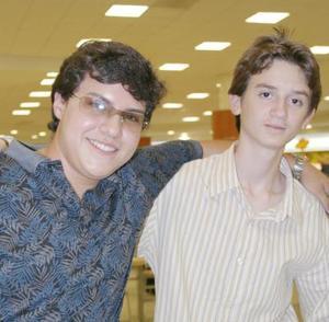 Luis Álvaro Gómez y Raúl Duarte.