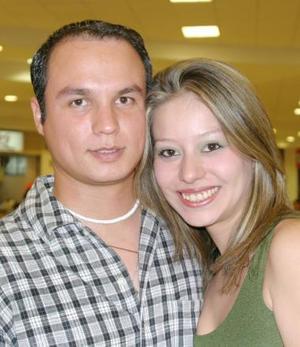 José Luis Sotomayor y Diana Arroyo.