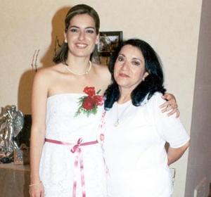 Hilda Susana Acosta Martínez y Rosalía Ochoa de Félix.