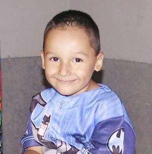 Federico Morado Galvíz fue festejado con un divertido convivio infantil, con motivo de sus cuatro años de vida.