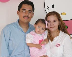 <u><i> 09 de Agosto </u></i><p>  Stephany Paola López Aldana celebró su primer cumpleaños, con una divertida fiesta que le pepararon sus papás, Julio César López González y Paola Aldana Torres.