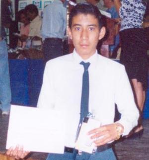 Daniel Eduardo Ibarra Muñoz, en pasado acontecimiento social.