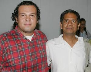Iván Lavín y Gustavo Montes.
