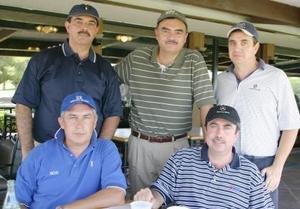 Eduardo Zablah, Ricardo Pámanes, Javier De Nigris, Jesús Tumoine y Salvador Sánchez.
