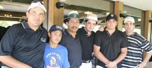 Héctor Ramos, Emilio Sánchez Jr, Emilio Sánchez, Mauricio Mansur, Hassan Mansur y Amin Núñez.
