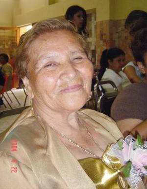 <u><i> 10 de Agosto </u></i><p>  María del Socorro Márquez Pérez festejó 73 años de vida, con un agradable convivio.