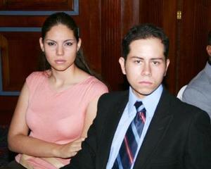 Marina Gómez Chávez y Ricardo Flores Débora.
