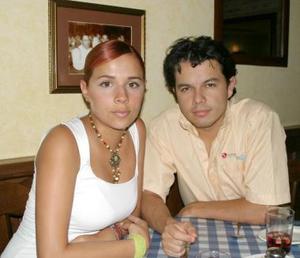 Lorena Marín y Santiago Ayala.