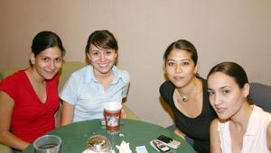Paty García, Rhoda Real, Sayin Wong y Paty Reyes.