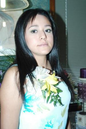 Alejandra Yáñez Castro, captada en su despedida de soltera.
