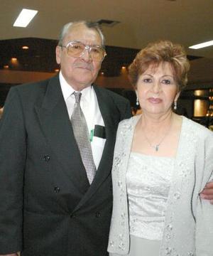 Roberto Rodríguez Lugo y Rosa María de Acosta.