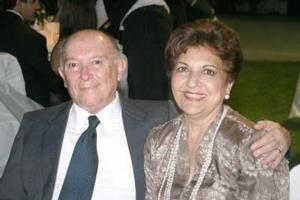 Paco y Véronica Cabrera.